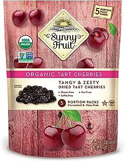 Sunny Fruit Sunny Fruit Organic Tart Cherry (5 snack packs), 100g