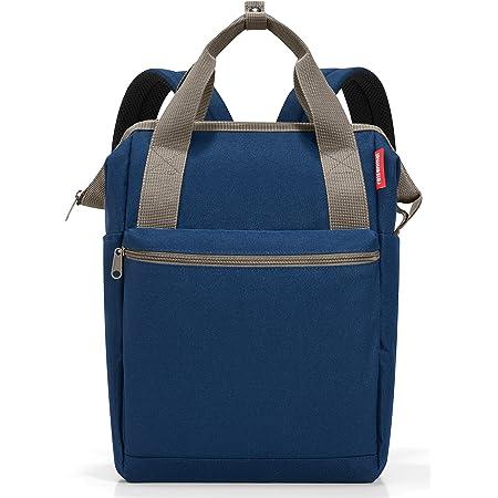 reisenthel allrounder R JR4059 in dark blue – Rucksacktasche mit 12l Volumen – Hochwertig und bequem – B 31 x H 39 x T 17 cm