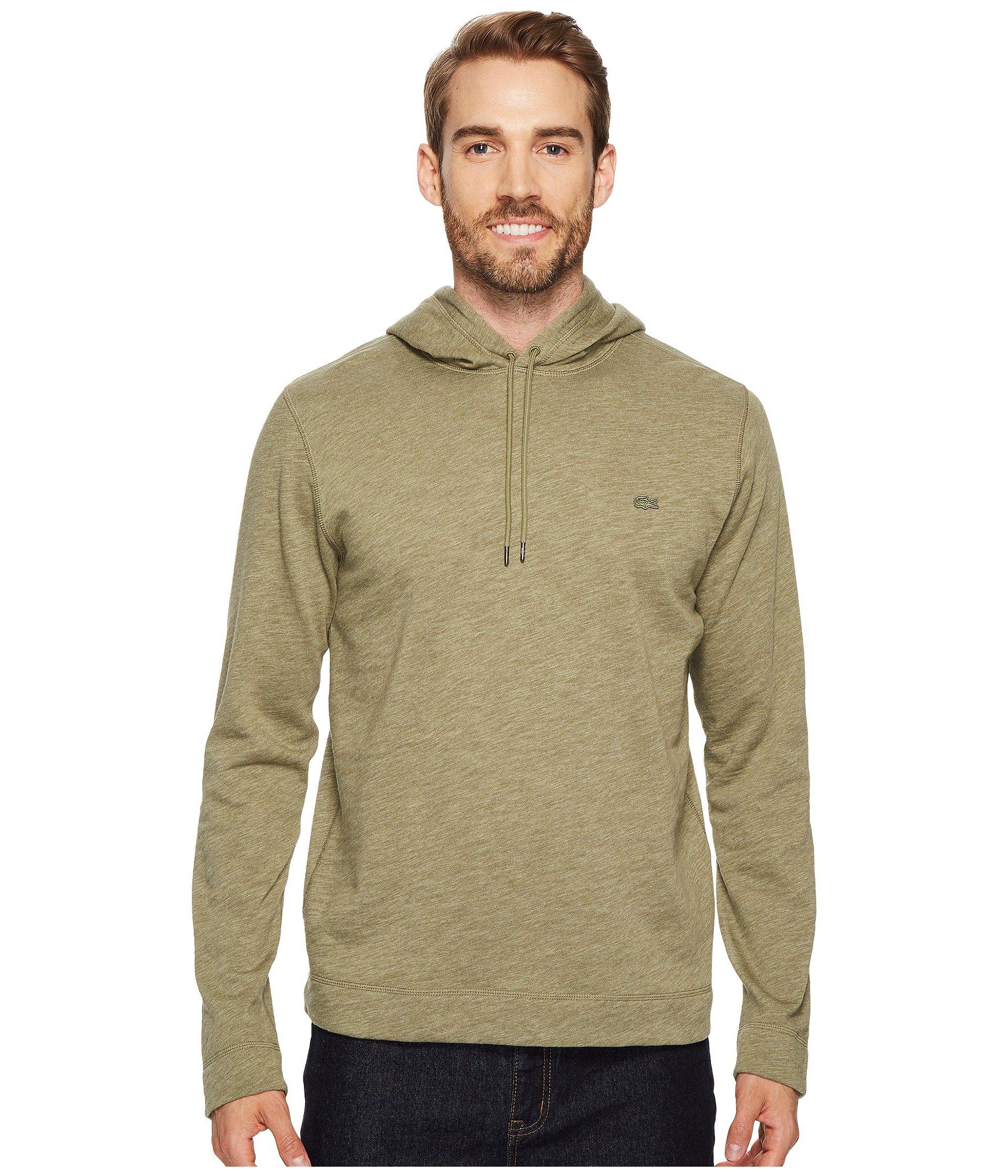 Buzo o Chaqueta Deportiva para Hombre Lacoste Light Brushed Fleece Hoodie Sweatshirt  + Lacoste en VeoyCompro.net