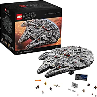 LEGO Star Wars Ultimate Millennium Falcon 75192 Expert Building Kit and Starship Model, Best Gift and Movie Collectible fo...