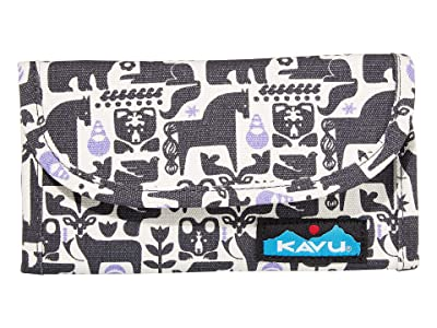 KAVU Big Spender (Charcoal Fable) Wallet Handbags