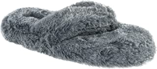 Chinese Laundry Ladies Tipped Fur Thong Fashion Slipper, Size 5 to 12