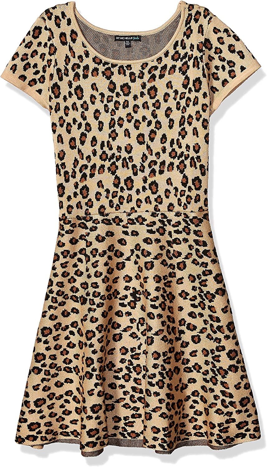 My Michelle Free Ranking TOP20 shipping anywhere in the nation Girls' Soft Neck Sweater Scoop Dress