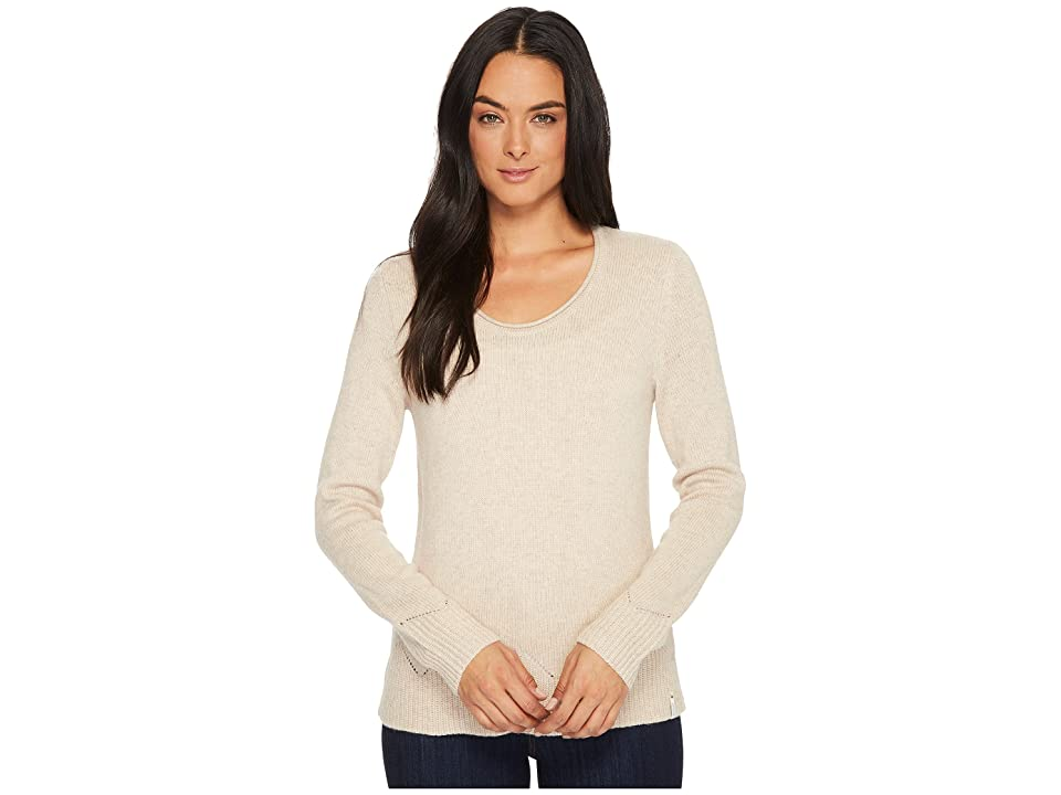 Woolrich Maple Way Crew (Oatmeal Heather) Women
