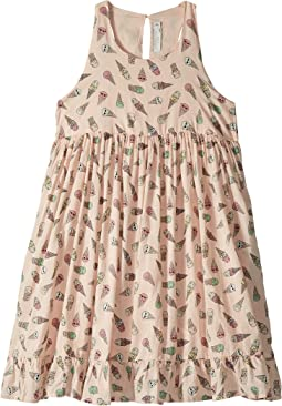 Pip Sleeveless All Over Ice Cream Print Dress (Toddler/Little Kids/Big Kids)