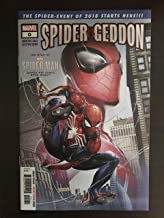 Spider-Geddon #0 first printing original 2018 Marvel Comic Book Near Mint Condition 1st Appearance of PS4 Spiderman NM Spidergeddon