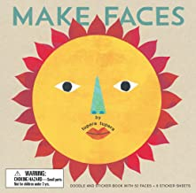 Make Faces: Doodle and Sticker Book with 52 Faces + 6 Sticker Sheets