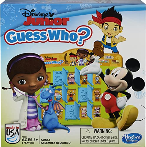 Disney Jr Guess WhoGame by Hasbro