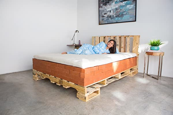 KLOUDES Mattress Topper California King Experience A New Mattress Without The Cost Of One