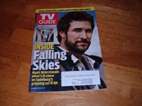 TV Guide magazine, July 4-10, 2011-Falling Skies star, actor Noah Wyle on cover.