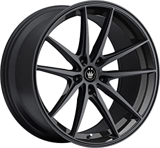 Konig OVERSTEER Gloss Black Wheel with Painted Finish (18 x 8. inches /5 x 114 mm, 45 mm Offset)