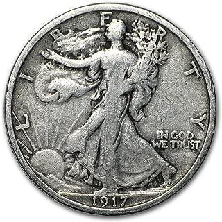 1917 Walking Liberty Half Dollar VG Half Dollar Very Good