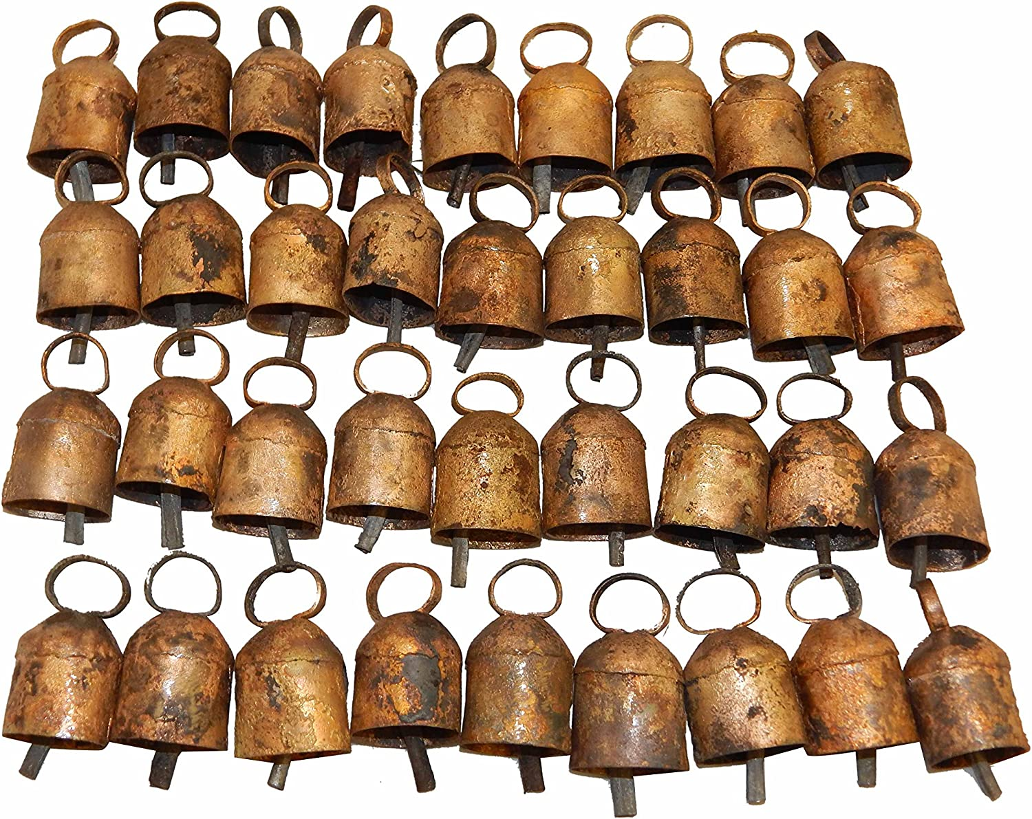 Thirty Six Tin Bells Ranking TOP8 with Rounded Top outlet and Metal Striker