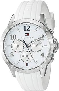 Tommy Hilfiger Women's 1781646 Dani Analog Display Japanese Quartz White Watch