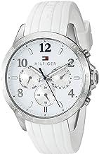 Tommy Hilfiger Women`s 1781646 Dani Analog Display Japanese Quartz White Watch