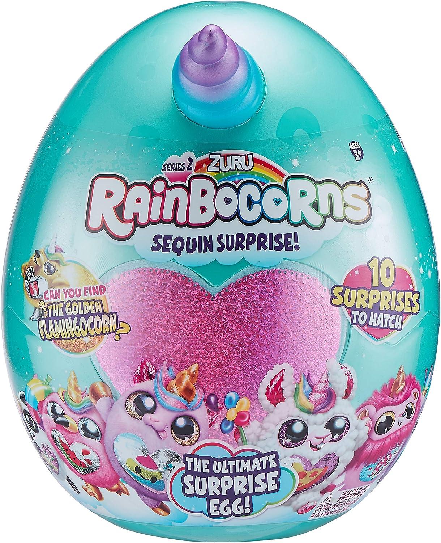 ZURU RAINBOCORNS 9202M1 The Popular Fees free!! products Teal Ultimate Egg Surprise