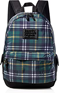SuperdryChecked MontanaHombreMochilasVerde (Green Check)30,5x46x13,5 centimeters (W x H x L)