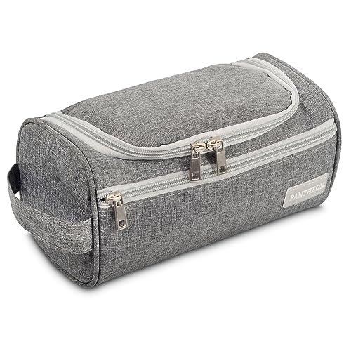 fc3ead0136 Pantheon Toiletry Organizer Wash Bag Hanging Dopp Kit Travel for Bathroom  Shower