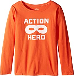 Action Hero Mask Long Sleeve Tee (Little Kids/Big Kids)