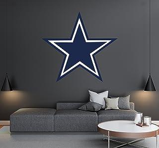 057c9438 Dallas Cowboys - Football Team Logo - Wall Decal Removable & Reusable For  Home Bedroom (