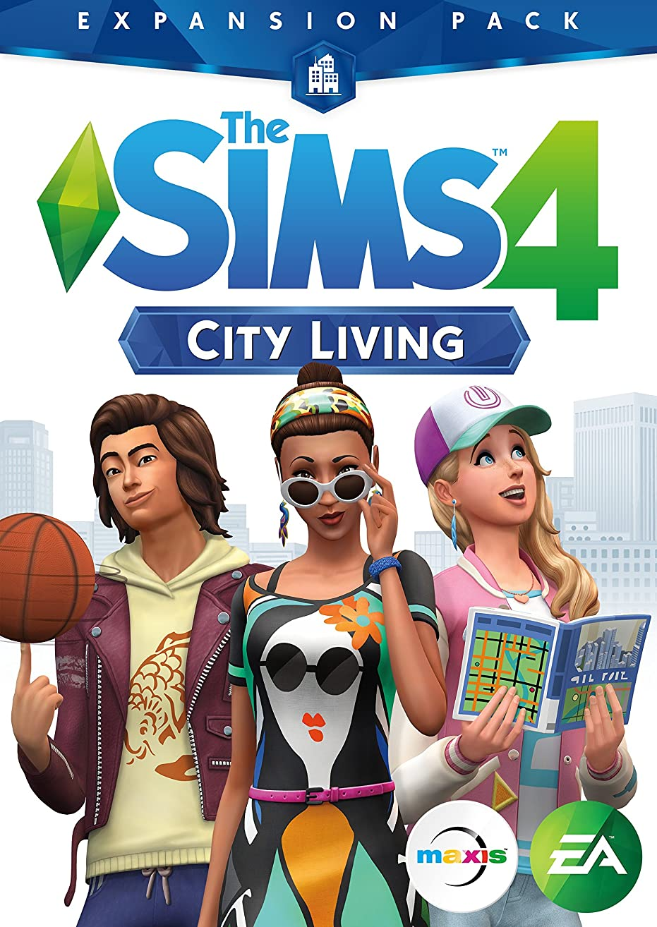 The Sims 4 City Living [Online Game Code]