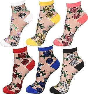 Best sheer rose socks Reviews