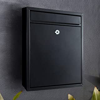 Mailbox Premium Lockable BL Wall-Mounted Architectural Design Weather-Resistant