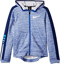 Therma Elite Full Zip Basketball Hoodie (Little Kids/Big Kids)