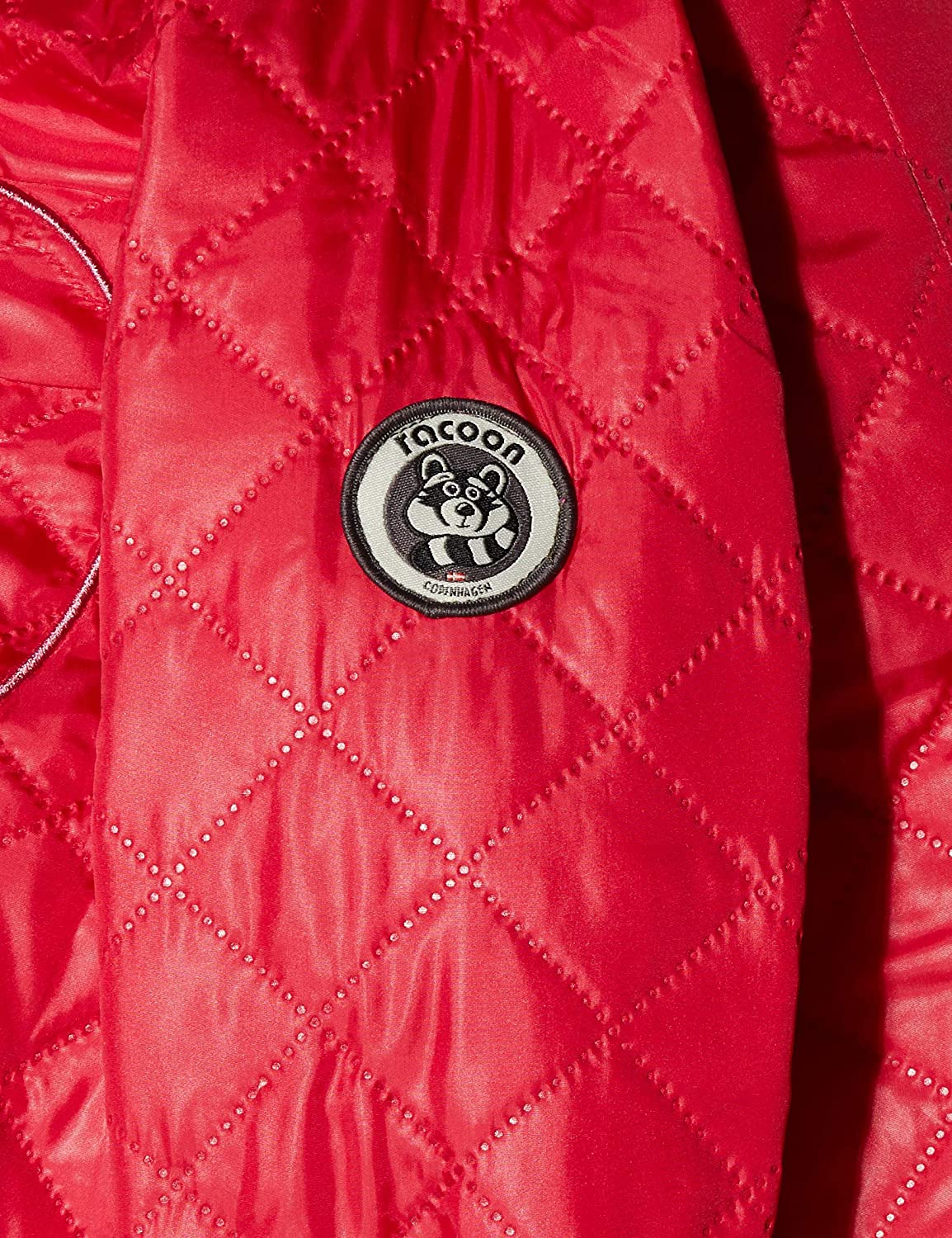 Racoon Baby-M/ädchen Olga Thermoset 2teilig Jacke Persian Red Per 98 Rot