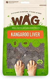 WAG Pure Meat Kangaroo Liver Dog Treat, 750g
