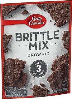 Betty Crocker Brittle Mix, Brownie, 14 oz