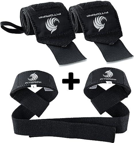 Cap Premium poignet Wraps Avec Boucle De Pouce Coupe 2 par boîte de poids de levage Sports