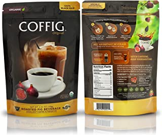 Sponsored Ad - COFFIG Roasted Fig Beverage - Coffee Substitute Caffeine Free - Certified 100% Organic Fruit Energy Drink -...