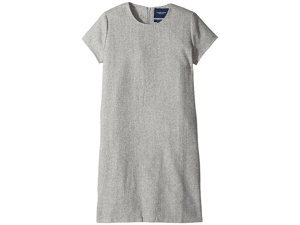 Toobydoo Shift Dress (Toddler/Little Kids/Big Kids) (Grey) Girl