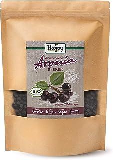 Biojoy BIO-Aroniabeeren getrocknet, ganze Früchte, Aronia melanocarpa 1 kg