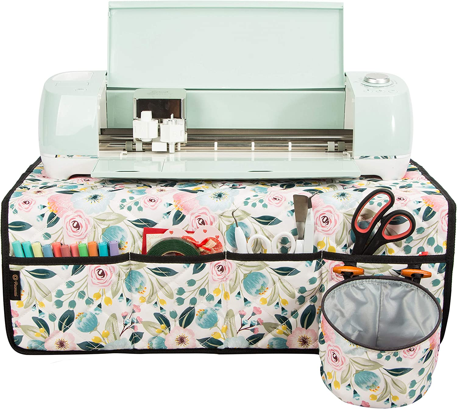 PACMAXI Machine Louisville-Jefferson County Mall Pad Large-scale sale for Cricut Table with Maker Pockets