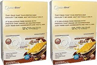 クエストニュートリション(Quest Nutrition) プロテインバー Smores(スモア) (60g x 24本) [海外直送] [並行輸入品]