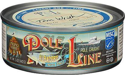 Pole and Line, Tuna Albacore With Salt, 5 Ounce