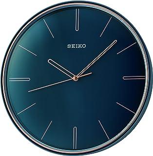 SEIKO Lenox Wall Clock, Navy Blue mat