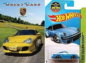 Great Cars: Porsche with Hot Wheels Porsche 934 Turbo RSR 1:64 DieCast Gift Bundle