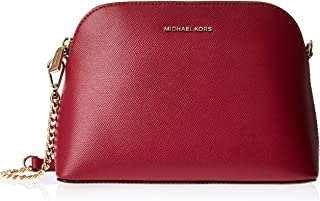 MICHAEL KORS Womens Large Zip Dome Xbody Bag, Berry - 32F9GJ6C4L