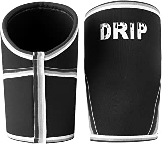 Drip Knee Compression Sleeves   Best Knee Braces to Stabilize Joints to Prevent Injury and Support Recovery   for Training, Running, Weightlifting and Sports