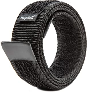 No-Scratch Reversible Web Belt, with Rubber Coated Tips and Advanced H&L Fasteners