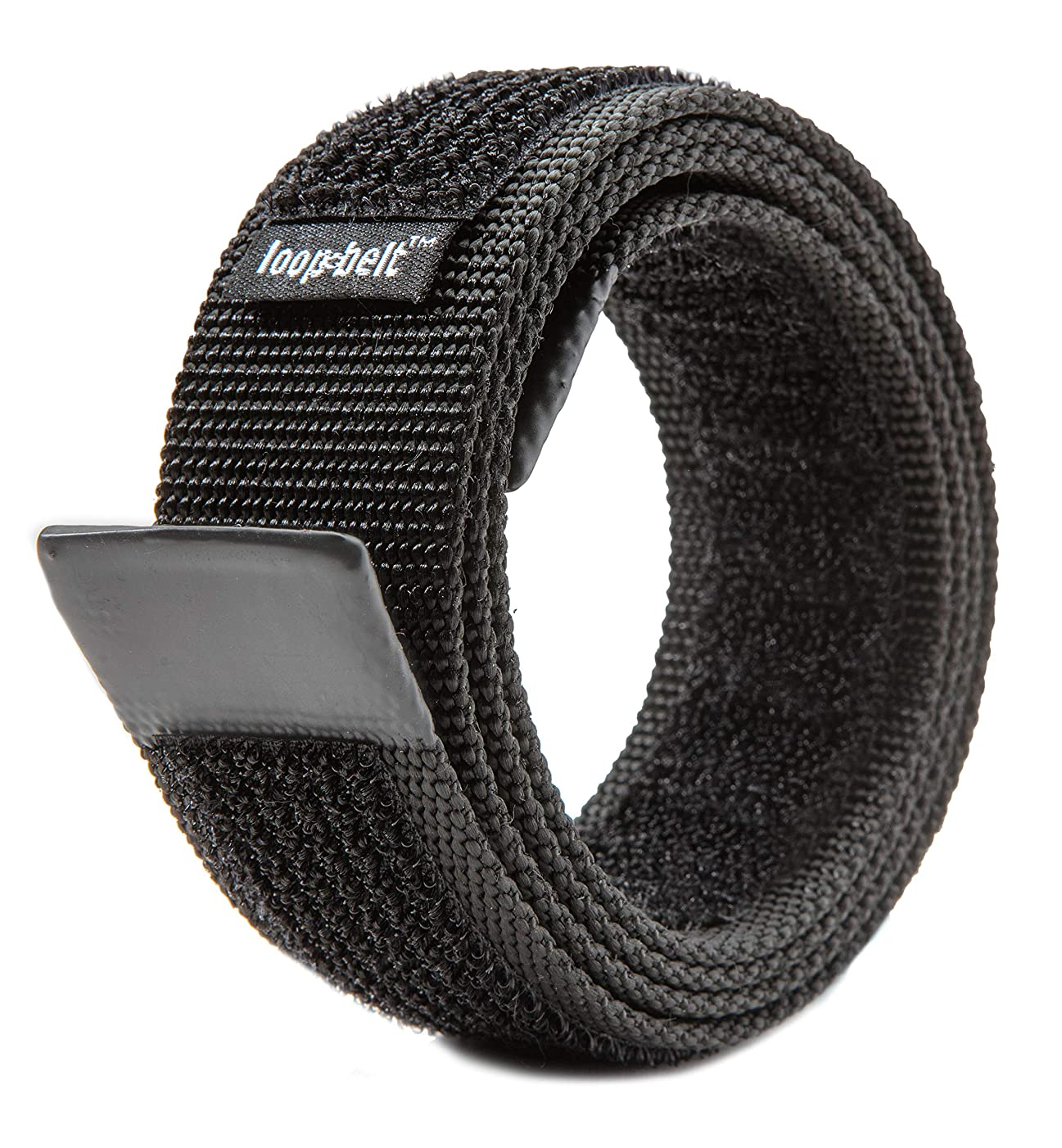 Loopbelt No-Scratch Reversible Web Belt, with Rubber Coated Tips and Advanced H&L Fasteners