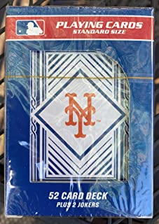 New York Mets Playing Cards Factory Sealed Deck by Pro Specialties Group
