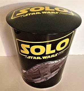 star wars popcorn tin