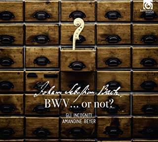 BWV... or not? ~ 偽物のバッハ (Johann Sebastian Bach : BWV... or not? / Gli Incogniti | Amandine Beyer) [CD] [輸入盤] [日本語帯・解説付]