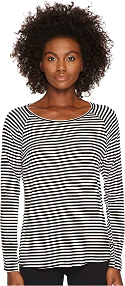 Kate Spade New York x Beyond Yoga - Keyhole Long Sleeve Shirt