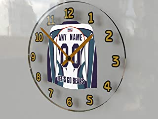 ECHL East Coast Hockey League Wall Clocks - All E C H L Team Colours Available - Support Your Team !!!