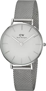 Daniel Wellington DW00100164 Year-Round Analog Quartz Silver Band Watch